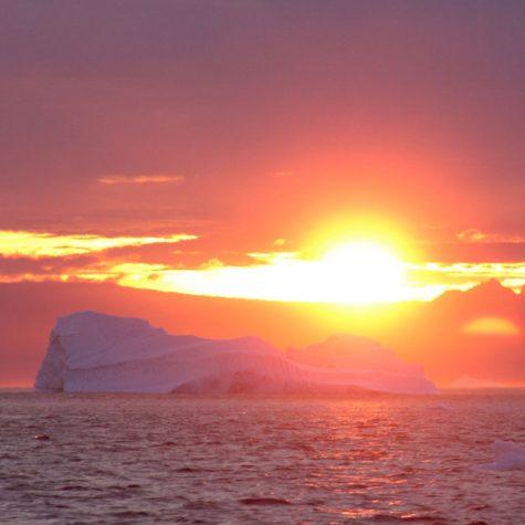 CTI Greenland-Ilullissat Sunset